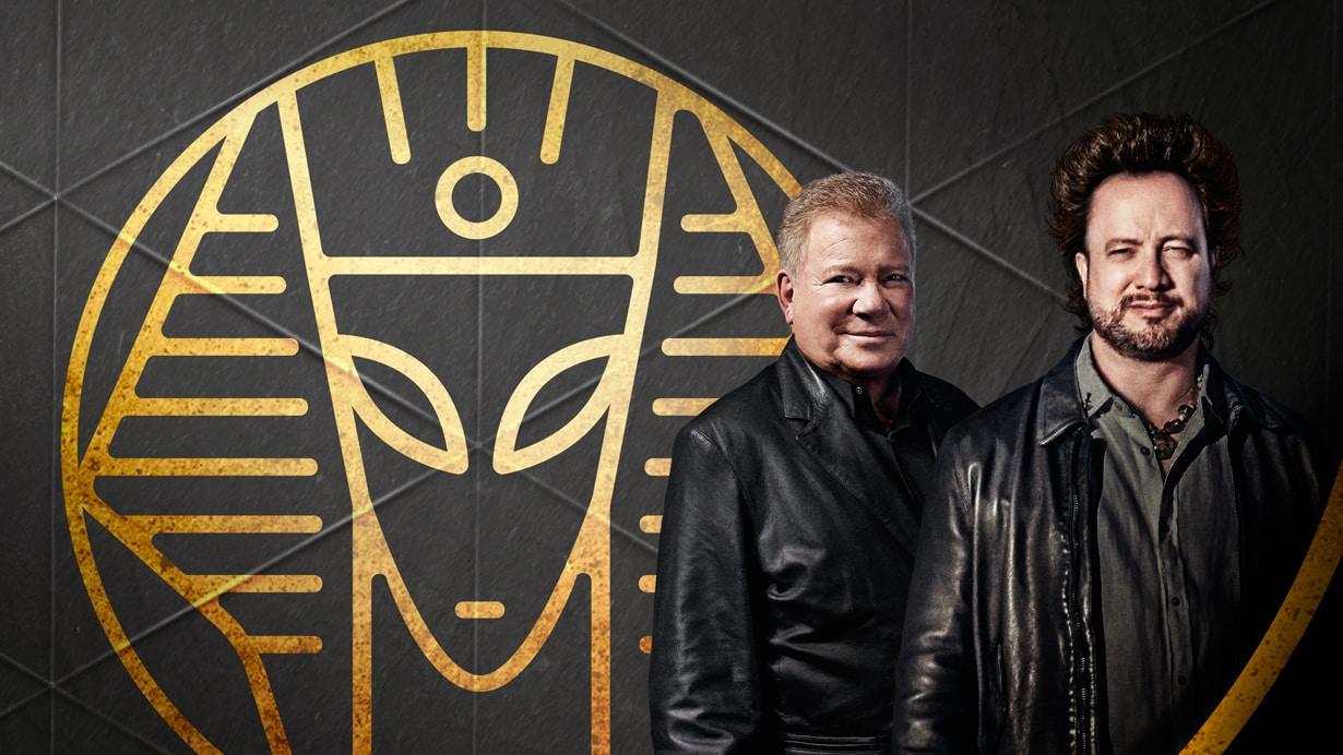 William Shatner Meets Ancient Aliens